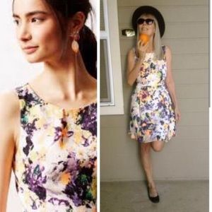 "Anthropologie ""Maeve"" Pebble Print Dress"